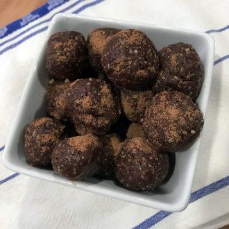 Chocolate Caramel Bliss Balls